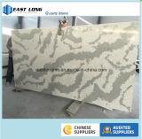 Pedra de mármore artificial de quartzo da alta qualidade para a parte superior de tabela da parte superior do banheiro da parte superior da vaidade do Countertop/da cozinha