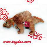 Stuk speelgoed van de Dinosaurus van de pluche het Wilde