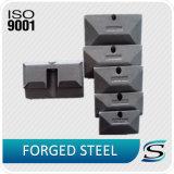 フォークリフトのホックのためのISO9001セリウムの精密鍛造材の部品
