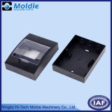 ABS調節可能なカバーが付いているプラスチック部品の黒の電気ボックス
