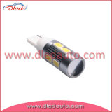 indicatore luminoso dell'automobile di 12V W5w T10 10*5730SMD Canbusl LED con l'obiettivo