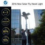 réverbère solaire élevé de taux de conversion 80W pour des places de variété