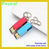USB del USB corporativo Keychain Keyring di Beautiful Flash Drive (gc-660)