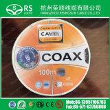 Tipo cabo coaxial Sat703 Cavel de Italy de 75ohm para o sistema de CATV