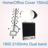 Komplettes Set GSM/Dcs 1800 Verstärker des Signal-2100 2g/3G/4G/Verstärker 27dBm