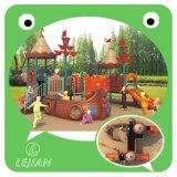 CE Europe Estándar plástico Multi Zona de juegos al aire libre para el Parque (12057A)