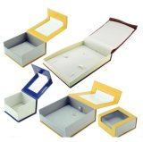 Роскошная коробка кольца картона подарка венчания