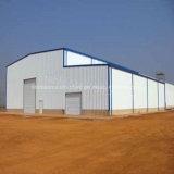 Helles Baustahl-vorfabriziertes Lager nach Angola