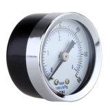 """0-60 calibrador 1/8 """" manómetro exacto de la presión hydráulica de la PSI de la De diagnóstico-Herramienta de la presión de la placa de dial del montaje 1.5 de la parte posterior del compresor de aire del NPT """""""