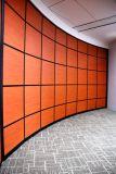 Cloison de séparation en verre en aluminium pour le bureau, salle de réunion