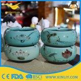 Commercio all'ingrosso su ordinazione del portacenere del sigaro di Poctket dell'automobile di ceramica ecologica