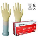 Wegwerflatex-Prüfungs-Handschuh-Malaysia-Preis-medizinischer Grad