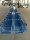El material para techos acanalado del color de la fibra de vidrio del panel de FRP/del vidrio de fibra artesona W172039