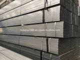 Quadratisches Stahlrohr/Gefäße/hohles Kapitel-galvanisiertes/schwarzes Ausglühen-Stahl-Quadrat