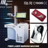 2D Mini imprimante à laser Pour l'acier inoxydable, aluminium, argent, machine d'inscription de laser de fibre en métal d'or