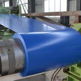 o metal de folha telhando PPGI de 0.14-0.8mm Prepainted a bobina de aço galvanizada