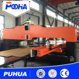 Гидровлическая машина CNC пробивая для толщиной плиты листа