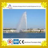 Супер высокий прямой фонтан соленой воды фонтана воды брызга