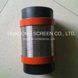 Écrans de Multicouche-Emballage/écran de fond pipe de double couche pour le perçage de puits de pétrole