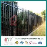 Сваренная пикетчиком напольная стальная загородка пикетчика обеспеченностью загородки для сада