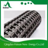 Низкий базальт Geogrid удлиненности с асфальтом, полимером или покрытием PVC