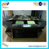 SingleまたはDual Zeroの8players Wooden Roulette Wheel Gambling Machine