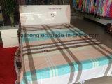 Tessuto all'ingrosso del lenzuolo stampato cotone comodo domestico della tessile