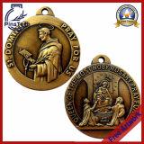 Medalla dura directa sin MOQ, ilustraciones libres del esmalte de la fábrica