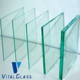 2mm、3mm、4mm、5mm、6mm、8mm、10mm、12mm、15mm、Building Glassのための19mm Clear Float Glass