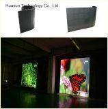 Pantalla de la cortina de P12 LED/pantalla flexible de la cortina del LED/pantalla impermeable de la cortina del LED