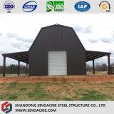 Entrepôt à charpente d'acier léger préfabriqué pour l'agriculture