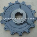 Piezas de la placa del bastidor de arena de hierro del OEM con trabajar a máquina del CNC