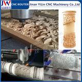 Router Multi-Function do CNC da pedra do Woodworking 1325 com linha central giratória