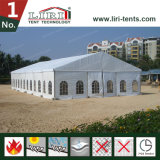 barraca do famoso de 9X30m usada para o banquete de casamento ao ar livre