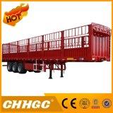 半CCC ISO公認の軽量ボックス塀の貨物トレーラー