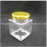 transparentes Speicher-Glasflaschen-würziges Glas der Nahrung430ml