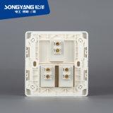 Interruttore bianco della parete di serie 3gang del nuovo interruttore elettrico