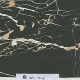 Пленка печатание черноты вены золота ширины Yingcai 1m кубическая