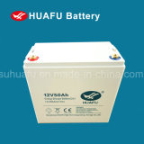 батарея клапана 12V50ah отрегулированная & глубокая цикла геля