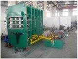 Tipo de marco máquina de vulcanización de la prensa del cristal de exposición para la hoja de goma