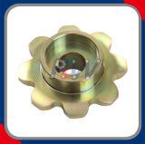 二重ピッチの鎖のための最もよい品質の銅めっきの産業スプロケット