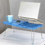 Bureau pliable en plastique d'ordinateur portatif