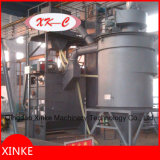 Rolling and Rotary Barrel Shot Blasting Machine com cinto de aço