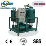 Alta máquina eficiente del filtro de aceite de lubricante del vacío