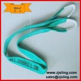 imbracatura viola L=8m della tessitura del poliestere 1t (può essere personalizzato)