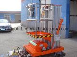 подъем платформы алюминиевого сплава электрических 8m гидровлический или батареи силы