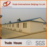 構築の生きている家のための鉄骨構造の移動式か移動可能またはプレハブの建物