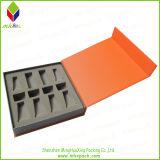 Plegable regalo caja de embalaje de papel con la cinta (MHX-012)