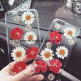 2016 caisse réelle fabriquée à la main de téléphone de silicones des fleurs TPU/de nouveaux produits pour le cas de couverture du téléphone mobile 6s de l'iPhone 6