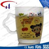 tasse en verre de l'eau de la fleur 290ml estampée par vente chaude (CHM8100)